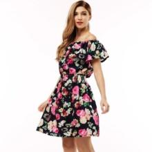 Sukienka z Motywem Kwiatowym