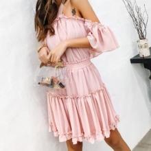 Urocza Sukienka Hiszpanka Emily S-L