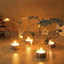 Świecznik Obrotowy Świąteczny Karuzela – HIT!