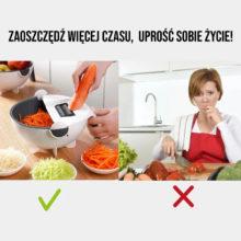 Wielofunkcyjna Tarka Krajalnica do Warzyw i Owoców